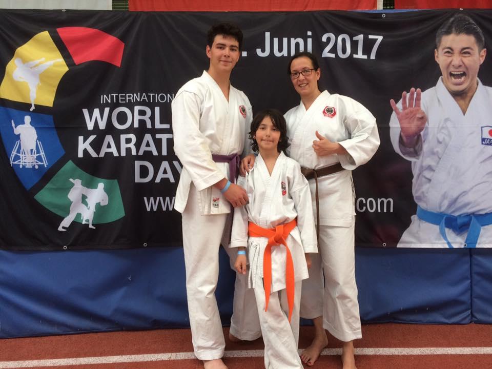 Simone berichtet vom Wolrd Karate Day 2017