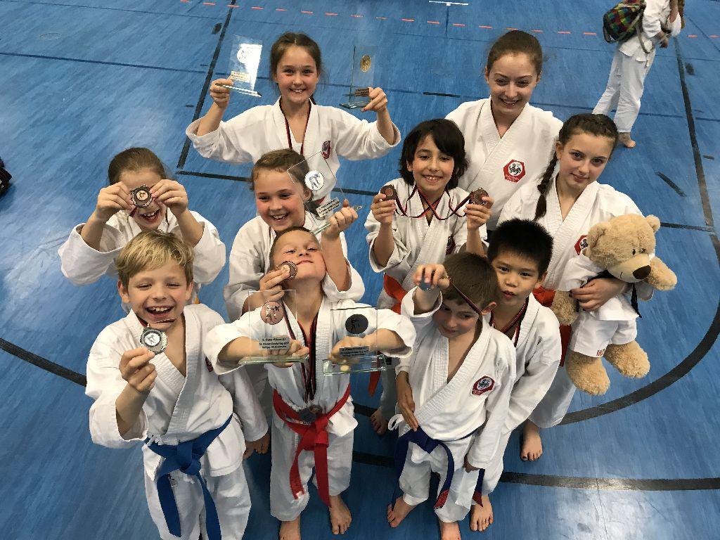 Karate-Centrum erfolgreich in Ilvesheim 2017