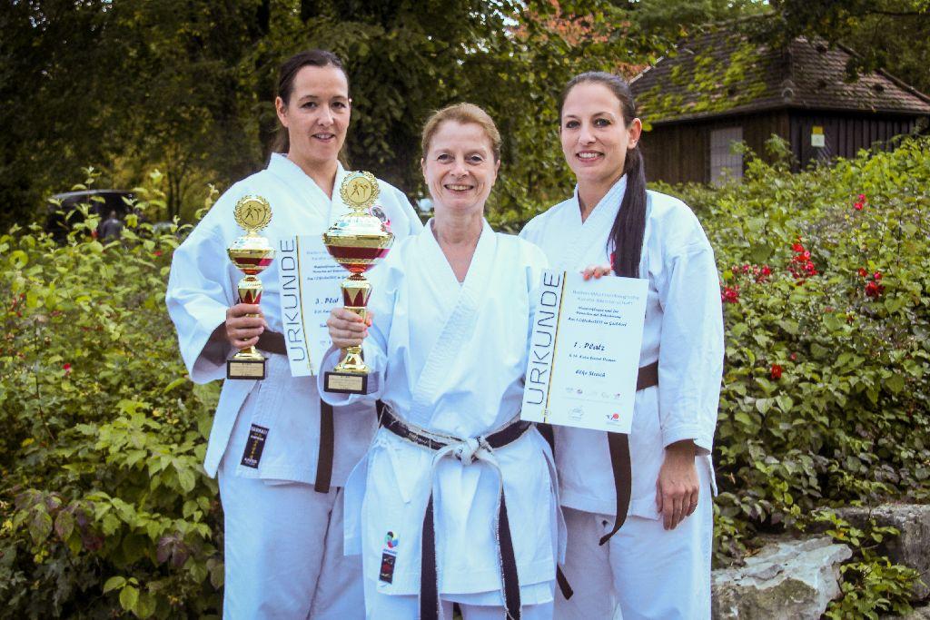 Elke Streich siegt auf Landesmeisterschaft Baden-Württemberg