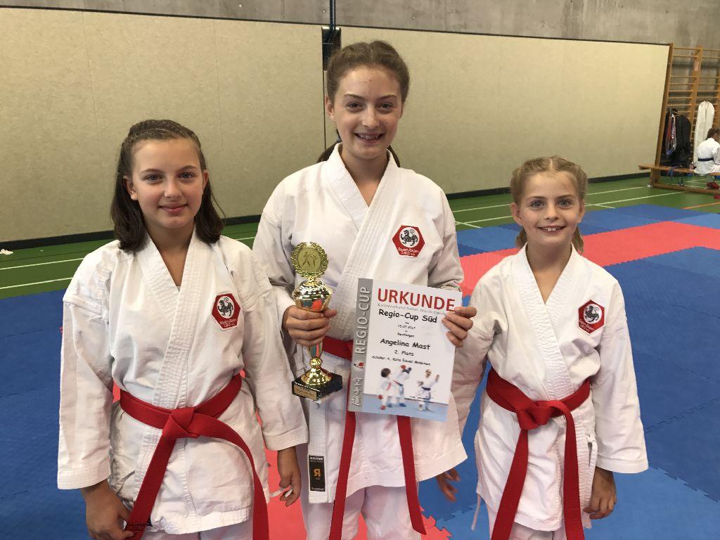 Karate Regio Cup Süd 2017 voller Erfolg