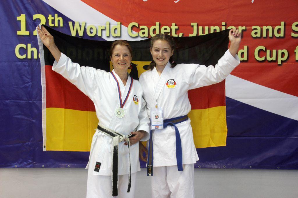 Elke wird WKC Kata Karate Weltmeister 2017